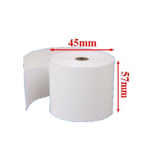 Giấy in bill  k57 đường kính 45mm