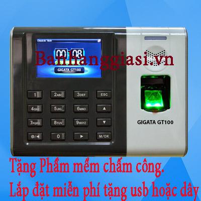 Máy chấm công Vân Tay thẻ thế hệ mới GIGATA GT100