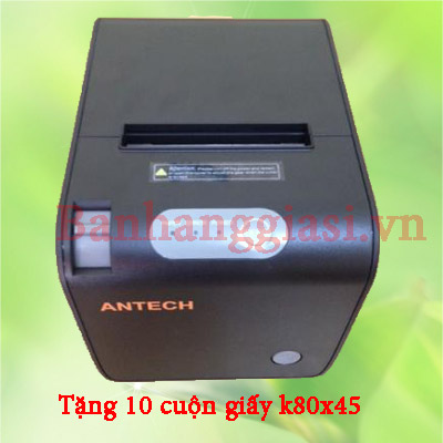 Máy in hóa đơn Antech C80