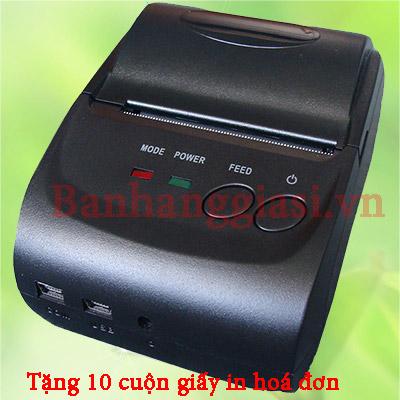 Máy in hóa đơn Bluetooth ZJ-5802LD