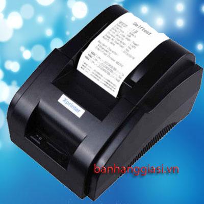 Máy in hóa đơn Xprinter XP 58IIH