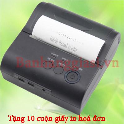 Máy in hóa đơn nhiệt Bluetooth ZJ 8001LD