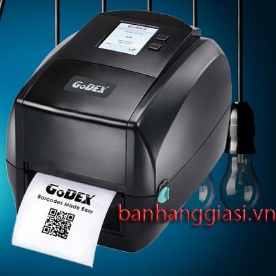 Máy in tem nhãn Godex RT860i